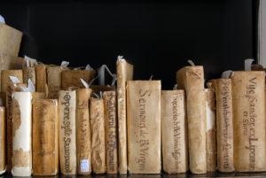 16 Biblioteca Tomistica - particolare Libri Storici