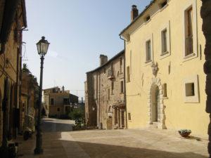 Palazzo Malaspina a Monsalpolo del Tronto