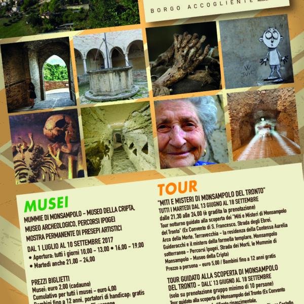 Apertura estiva Musei Civici di Monsampolo del Tronto