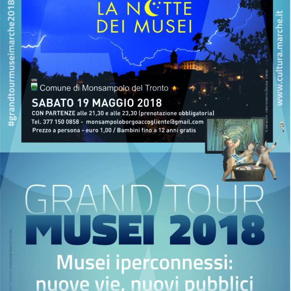 Notte dei Musei sabato 19 maggio 2018
