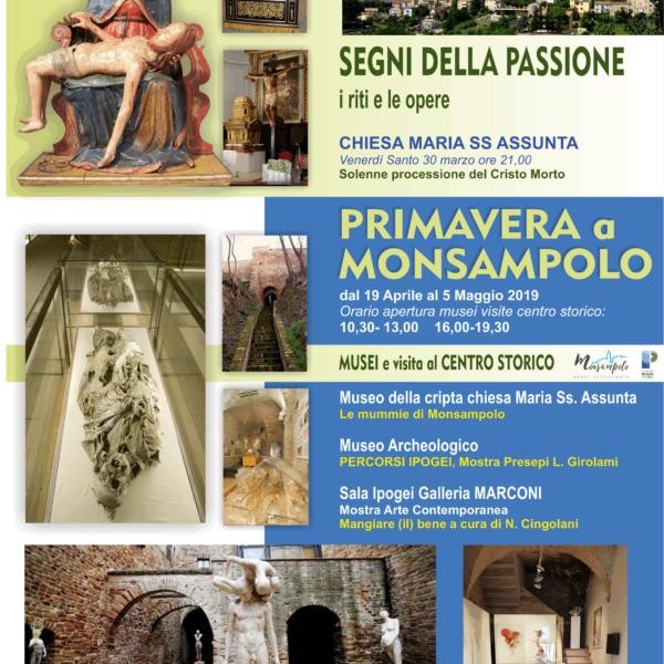 Aperture Musei Civici 19 aprile – 5 maggio 2019